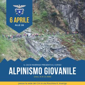 Presentazione corso Alpinismo Giovanile @ Sede Cai