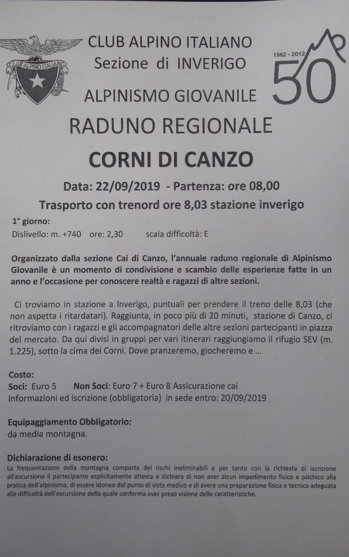Raduno RegionaleAG @ da definire